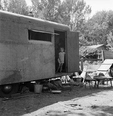 Trailer Home, 1939 Print by Granger
