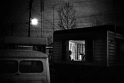 Trailer Home Art Print by Donald  Erickson