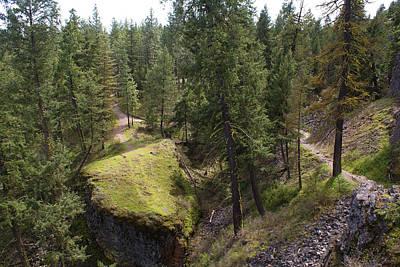 Photograph - Trails In Spokane by Ben Upham III