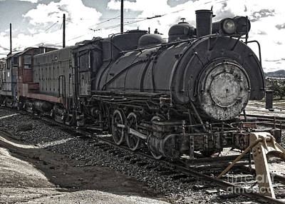 Photograph - Train - 03 by Gregory Dyer