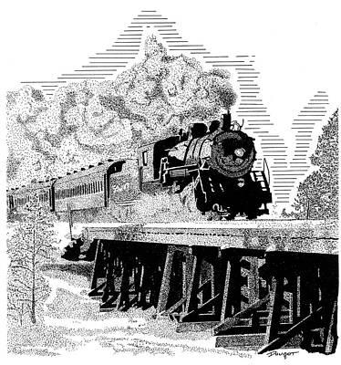 Train 1 Art Print
