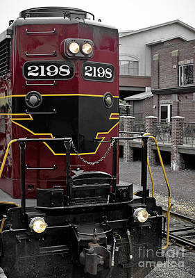 Photograph - Train - 2198 by Colleen Kammerer