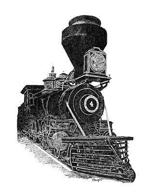 Train 3 Art Print
