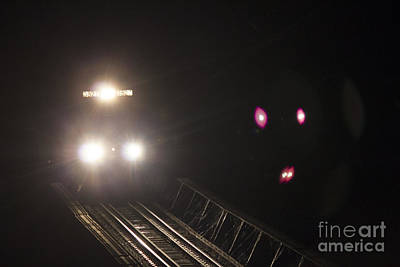 Photograph - Train 3527 by Debra K Roberts