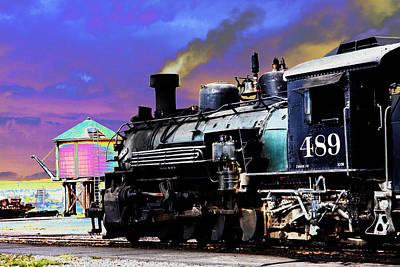 Train 489 Art Print by Steven Bateson