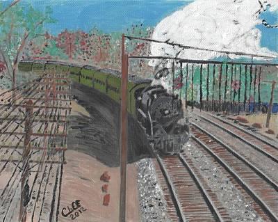 Train 641 Art Print