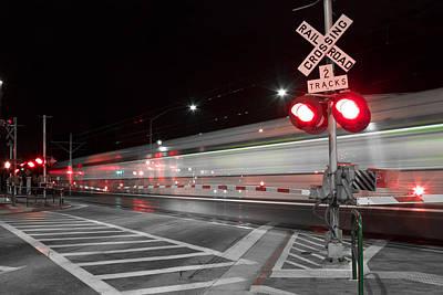 Photograph - Train Blur  by Rollie Robles