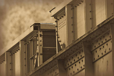 Photograph - Train Boxcar by Melinda Fawver