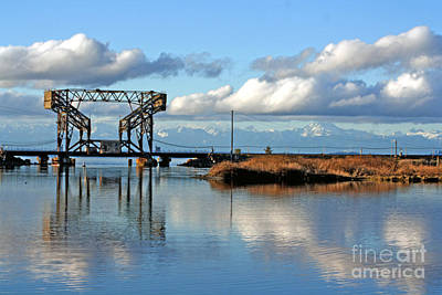 Photograph - Train Bridge by Chris Anderson