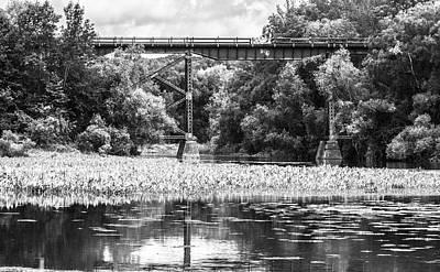 Photograph - Train Bridge by Garvin Hunter