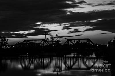 Photograph - Train Bridge by JT Lewis