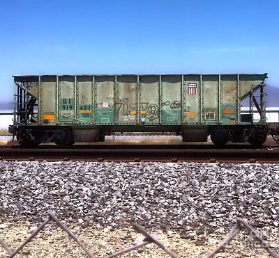 Photograph - Train Car by Gregory Dyer