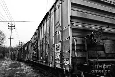 Photograph - Train Car by John Rizzuto