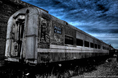 Photograph - Train Car by Jonny D