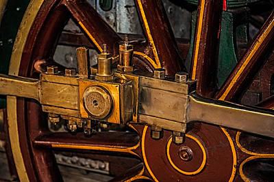 Steam Punk Photograph - Train Connecting Rod by Paul Freidlund