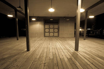 Photograph - Train Depot 1 by Dave Hall