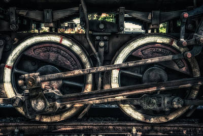Train Art Print by Dobromir Dobrinov