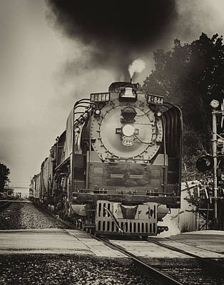 Photograph - Train Engine Close Pass by Charles McKelroy