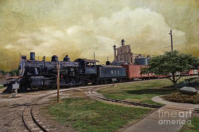 Train - Engine Art Print by Liane Wright