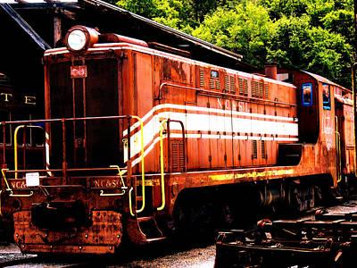 Train Engine Nc Sl  Art Print by Mark Moore