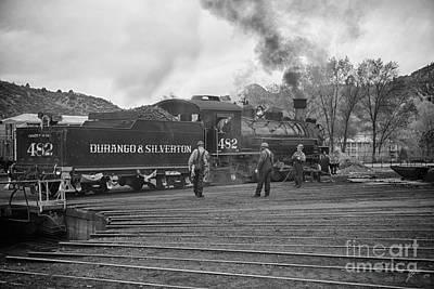 Photograph - Train by Erika Weber