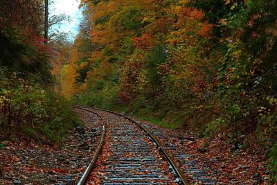 Train Fall Art Print