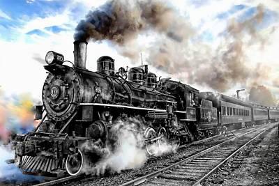 Photograph - Train Series 01 by Carlos Diaz