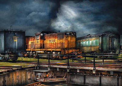 Photograph - Train - Let's Go For A Spin by Mike Savad