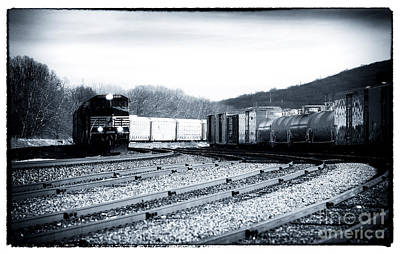 Photograph - Train Lights by John Rizzuto