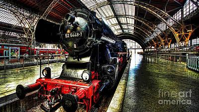 Digital Art - Train by Marvin Blaine