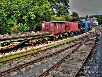 Photograph - Train by Nina Ficur Feenan