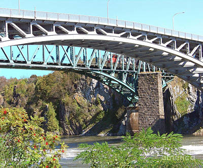 Photograph - Bridge Over Reversing Falls by Gena Weiser