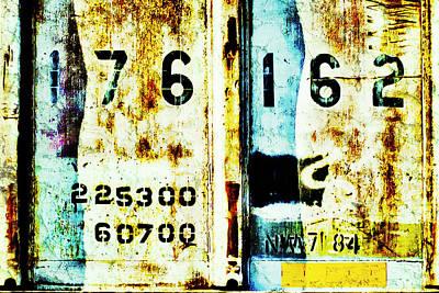 Train Plate 3 Art Print by April Lee