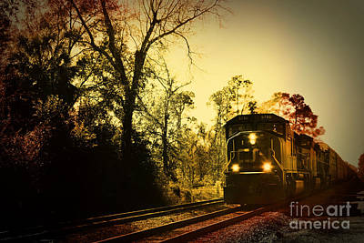 Train Ride Art Print