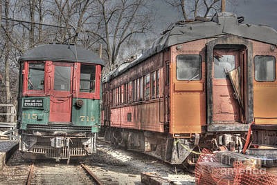 Fox River Photograph - Train Series 4 by David Bearden