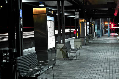Photograph - Train Station 2 by Rollie Robles