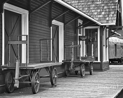 Photograph - Train Station by Kirt Tisdale