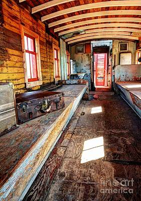 Photograph - Train Time Travel by Mel Steinhauer