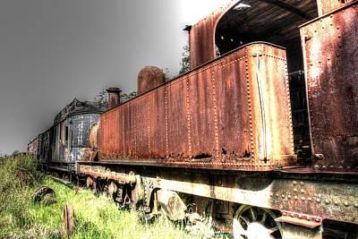 Photograph - Train To No-where. by Ian  Ramsay