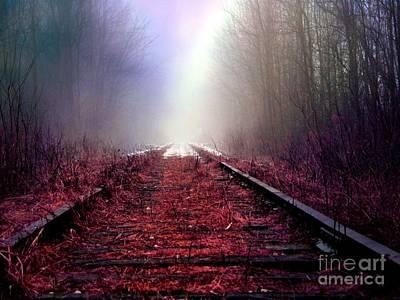 Photograph - Train Track by France Laliberte