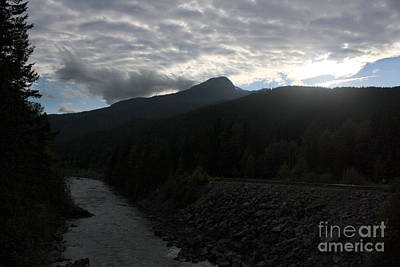 Photograph - Train Track To Whistler Mountains by Amanda Holmes Tzafrir