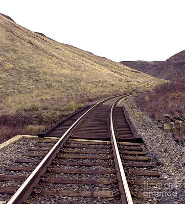 Photograph - Train Tracks by Robert Bales