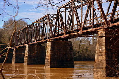 Photograph - Train Trestle by Lisa Wooten