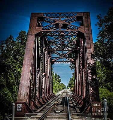 Photograph - Train Trestle by Ronald Grogan