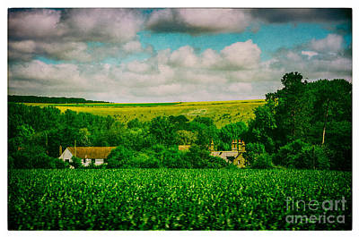 Photograph - Train Trip Countryside by Lenny Carter