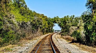 Train Tunnel Original by Dennis Dugan