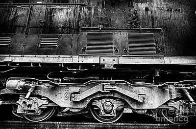 Photograph - Train Wheels Closeup by Danny Hooks