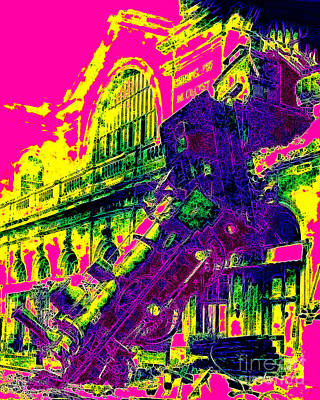 Train Wreck At Montparnasse Station 20130525 Art Print by Wingsdomain Art and Photography