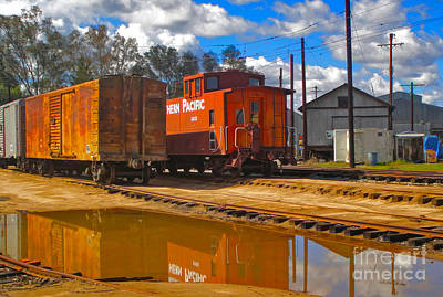 Photograph - Trains - 03 by Gregory Dyer