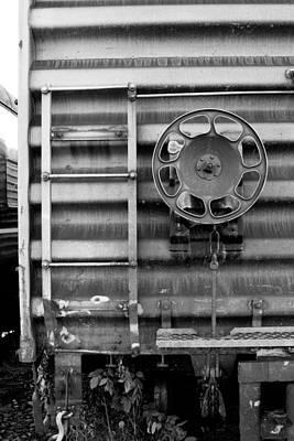 Trains 16 Art Print by Niels Nielsen